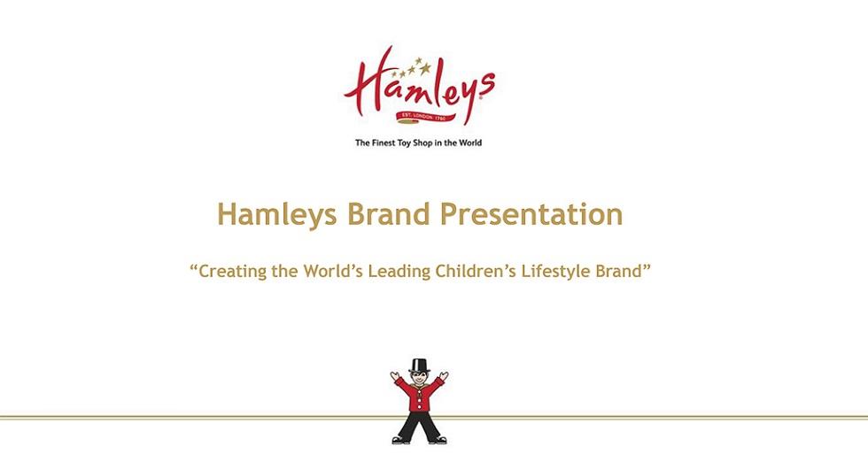 Hamleys Scandinavia Investment Opportunity